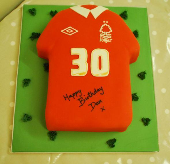 Football Shirt Cake Little Bear Cakery