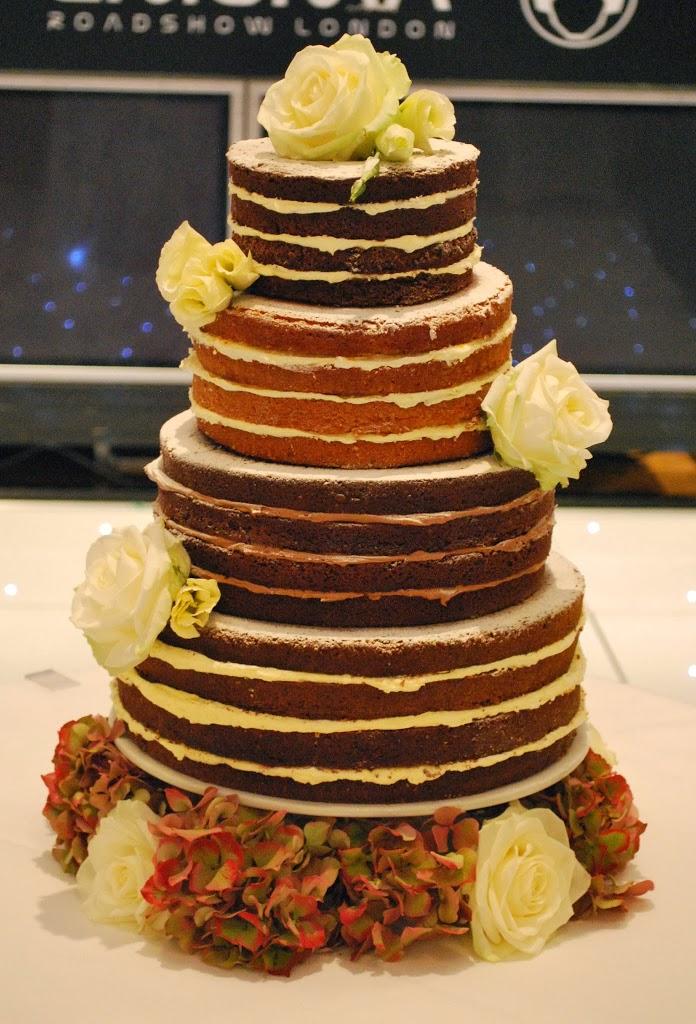 Naked Wedding Cake Little Bear Cakery