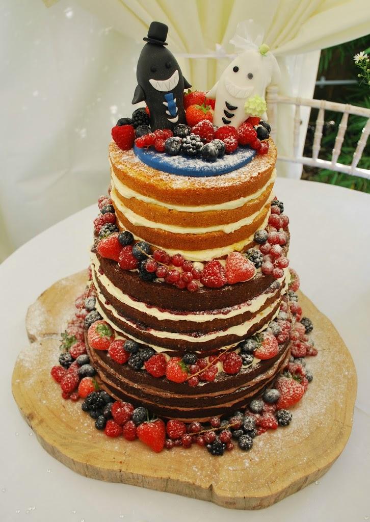A Trio Of Wedding Cakes