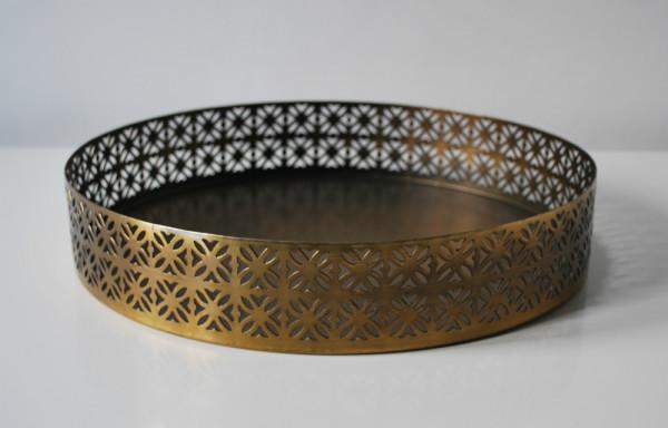 Brass Cake Platter