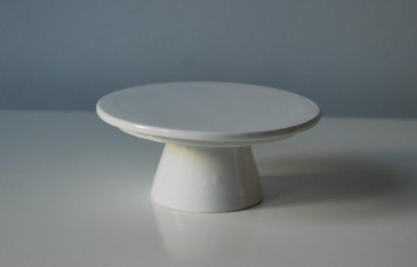 Miniature White Cake Stand