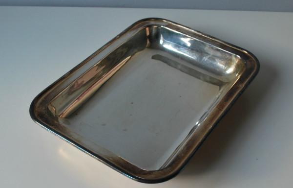 Vintage Silver Rectangle Dish