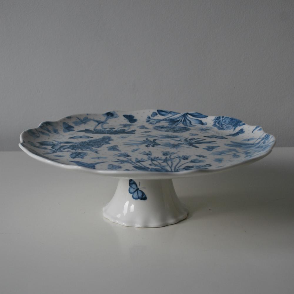 Portmeirion Botanic Blue Cake Stand